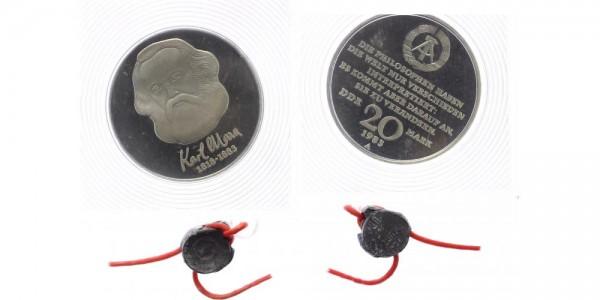 DDR 20 Mark 1983 - Karl Marx