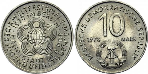 DDR 10 Mark 1973 A Weltfestspiele
