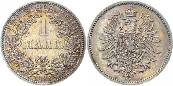 Kaiserreich 1 Mark 1883 A -