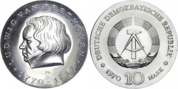 DDR 10 Mark 1970 A van Beethoven