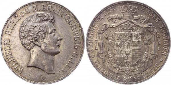 Braunschweig Doppeltaler 1854 - Wilhelm Herzog