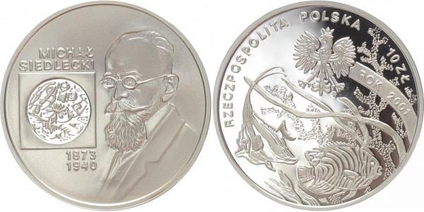 Polen 10 Zloty 2001 - Michal Siedlecki
