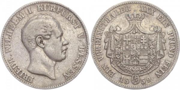 Hessen-Kassel Taler 1859 - Friedrich Wilhelm I.