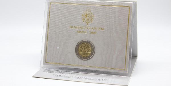 Vatikan 2 Euro 2006 500 Jahre der Päpstlichen Schweizergarde