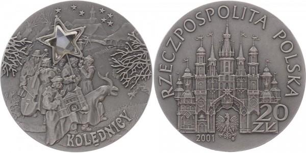 POLEN 20 Zloty 2001 - Sternsinger