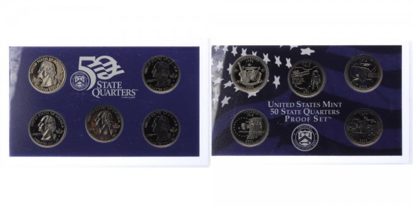 USA 25c, Quarter Dollar 2002 - Proof Set