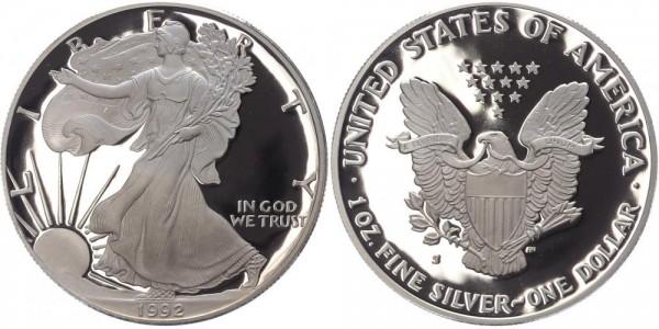 USA 1 Dollar 1992 S Eagle