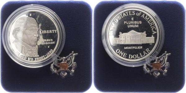 USA 1 Dollar 1993 - Bill of rights