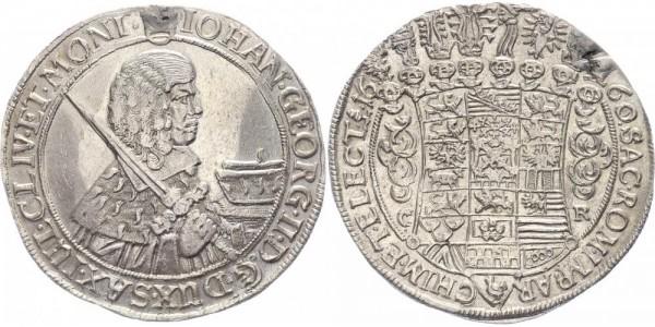 Sachsen Taler 1660 - Johann Georg II., 1656-1680