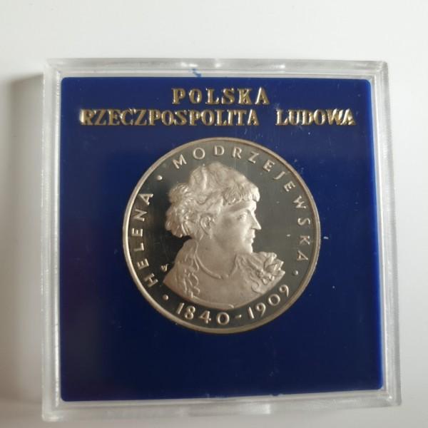 Polen 100 Zloty 1975 Helena Modrzejewska PP