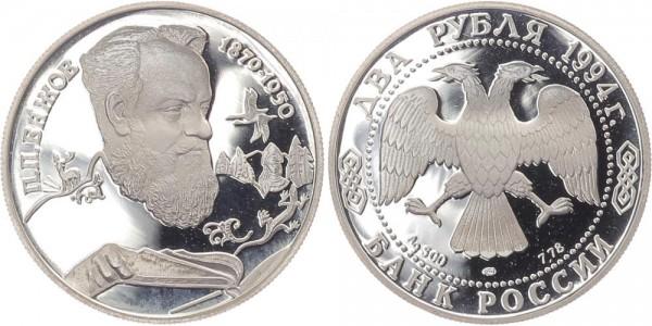 Russland 2 Rubel 1994 - P.P. Bazov