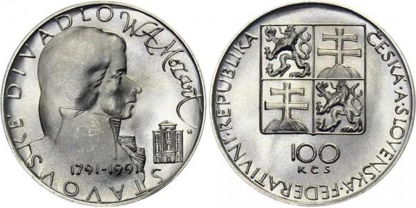 CSFR 100 Kč 1991 - Mozart