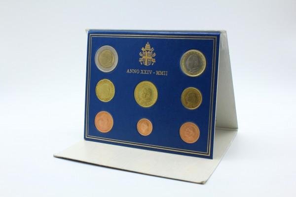Vatikan 3,88 Euro 2002 - Offizieller Kursmünzensatz