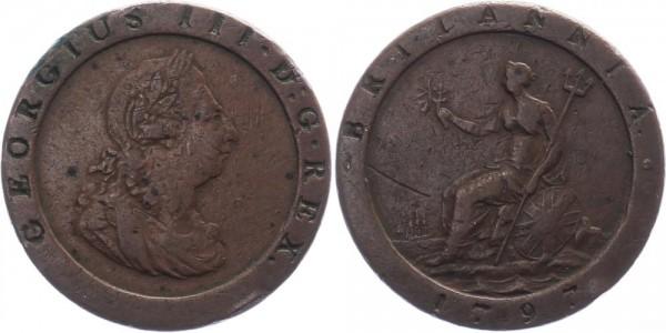 Großbritannien Penny 1797 - George III., 1760-1820