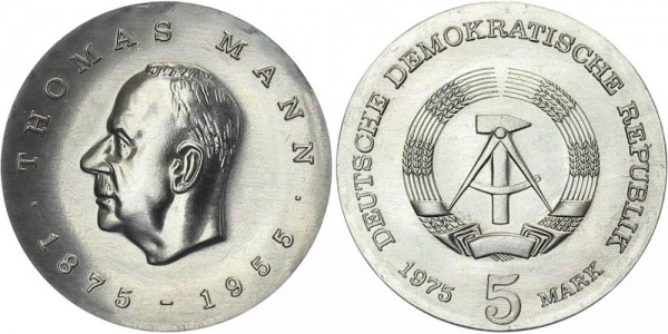 DDR 5 Mark 1975 A Thomas Mann