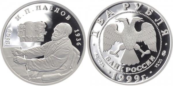Russland 2 Rubel 1999 - I.P. Pavlov