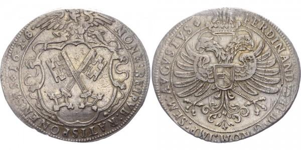 Regensburg Taler 1628 - Titel Ferdinands II.
