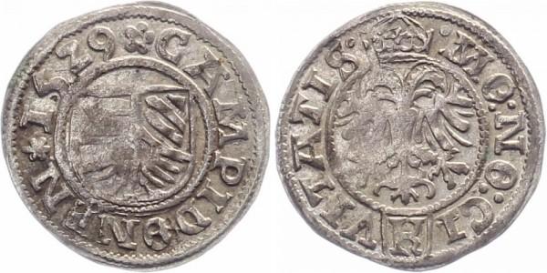 Kempten 1/2 Batzen 1529 - Stadt