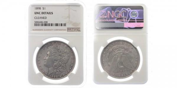 USA 1 Dollar 1898 - Morgan