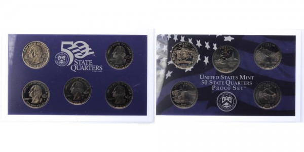 USA 25c, Quarter Dollar 2006 - Proof Set