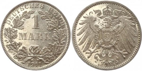 Deutsches Reich 1 Mark 1911 A Großer Adler