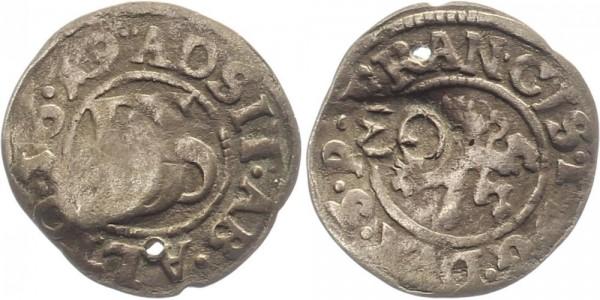 Pommern Doppelschilling 1619 - Franz I.