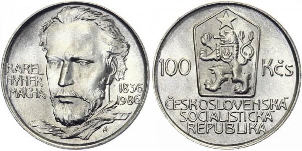 CSSR 100 Kč 1986 - Karol Hynek Macha