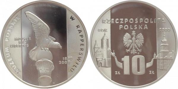 Polen 10 Zloty 2000 - Staatsmuseum