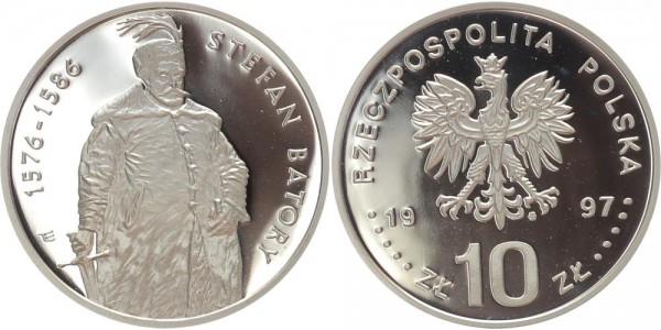 Polen 10 Zloty 1997 - Stefan Batory