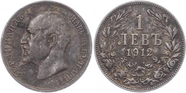 Bulgarien 1 Lew 1912 - Ferdinand I.