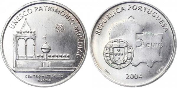 Portugal 5 Euro 2004 - Evora