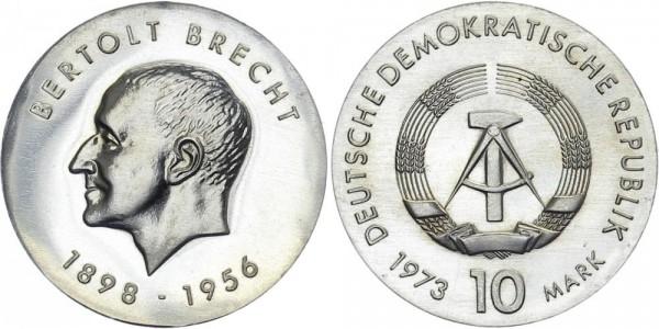 DDR 10 Mark 1973 A Brecht