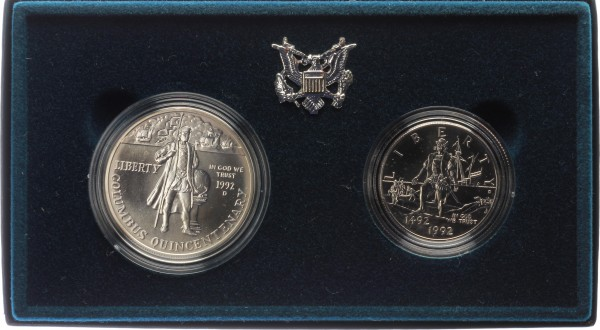USA 1,5 Dollar 1992 - Kolumbus