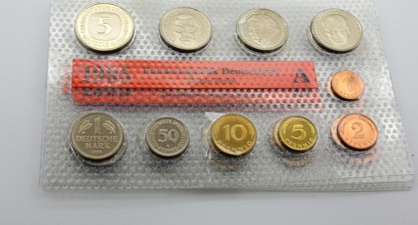 BRD 63,4 Mark 1995 A,D,F,G,J Kursmünzensatz