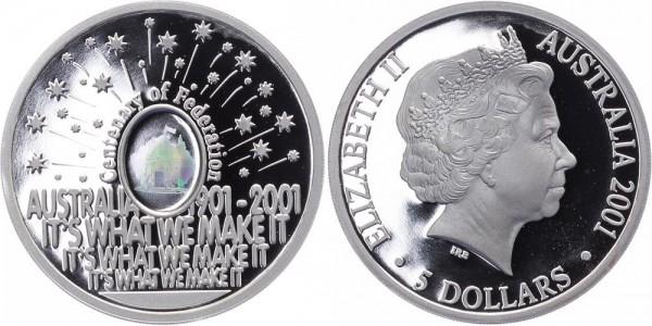 Australien 5 Dollar 2001 - Centenary of Federation