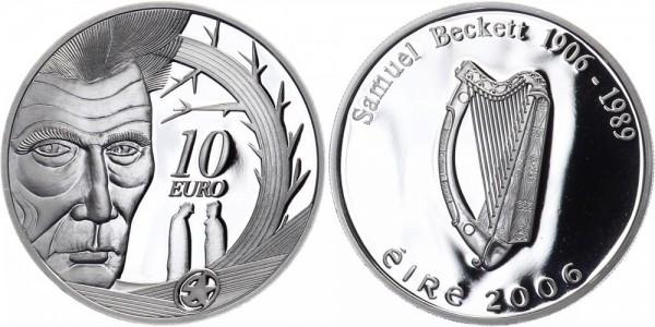 Irland 10 Euro 2006 - Samuel Beckett