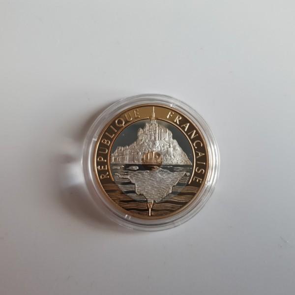 Frankreich 20 Francs 1992 Mont Saint-Michel PP