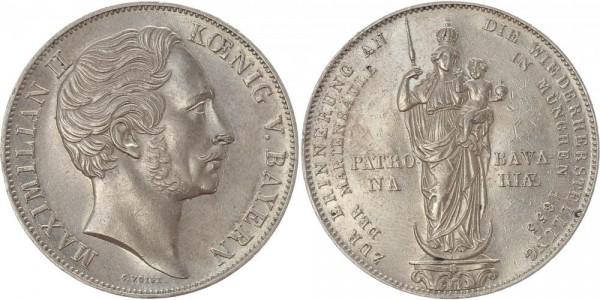 Bayern Doppelgulden 1855 - Mariensäule