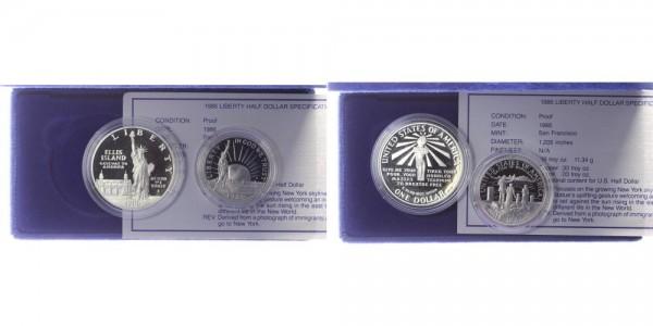 USA 1,5 Dollar 1986 - Freiheitsstatue