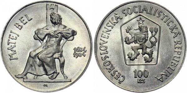 CSSR 100 Kč 1984 - Matej Bel