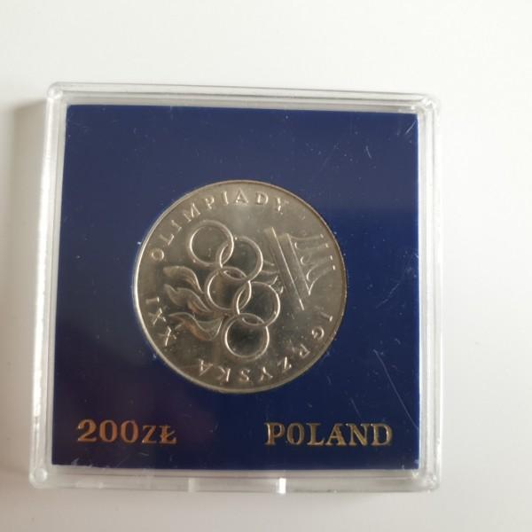 Polen 200 Zloty 1976 21. Sommer Olympiade stgl