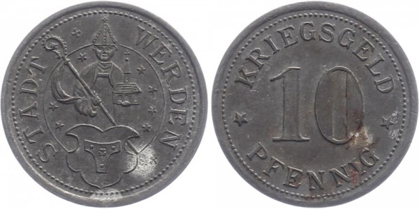 Werden 10 Pfennig o.D. - Notgeld