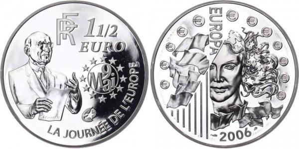 Frankreich 1 1/2 Euro 2006 - Robert Schumann