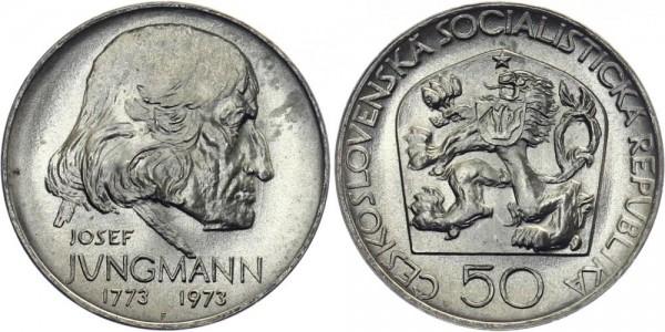 CSSR 50 Kč 1973 - Josef Jungmann
