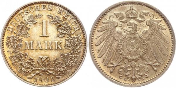 Deutsches Reich 1 Mark 1902 G Großer Adler