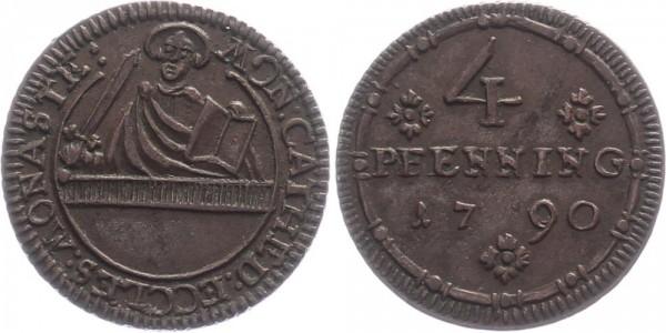 Münster 4 Pfenning 1790 - Domkapitel