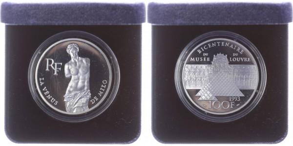 Frankreich 100 Francs 1993 - 200 Jahre Louvre, Vénus de Milo