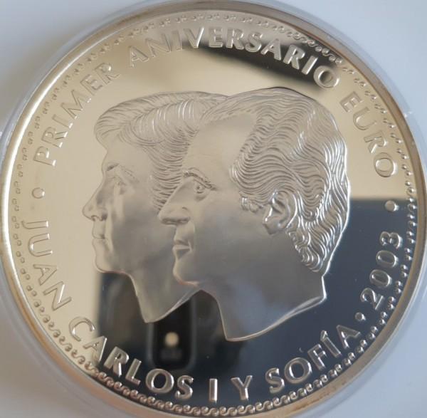Spanien 50 Euro 2003 1. Jahrestag der Euroeinführung; Juan Carlos 1. PP