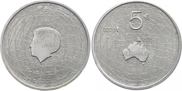 Niederlande 5 Euro 2006 - Entdeckung Australiens