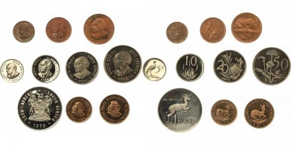 Südafrika 4,88 Rand 1979 - KMS